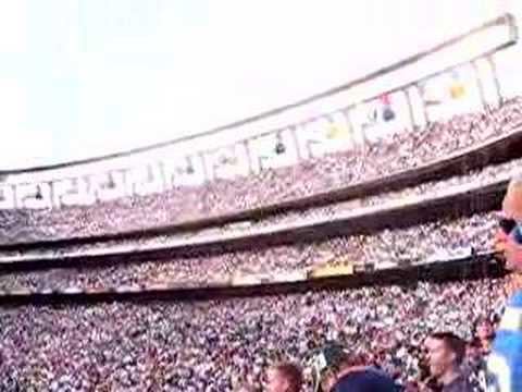 chargers game at the qualcomm stadium in sandiego Video