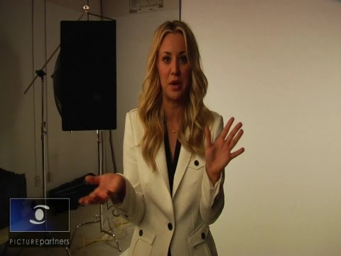 Kaley Cuoco on Her New Priceline Commercial and William Shatner