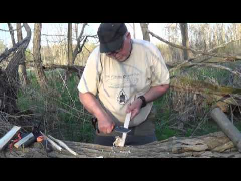 Bushcraft, Survival Knife Evaluation and Primitive Fire 2013