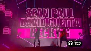 David Guetta Sean Paul Ft Becky G Mad Love Ultra Music Festival 2018