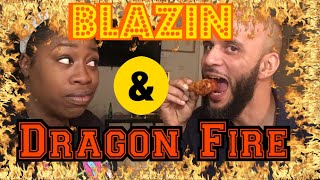 Dragon Fire 🔥& Blazin Wings 🤯 Bonus Taco Bell Nacho Box Mukbang  🌮