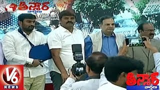 Hyderabad Mayor Bonthu Rammohan Speech At Municipal Bonds Listing Ceremony | Teenmaar News