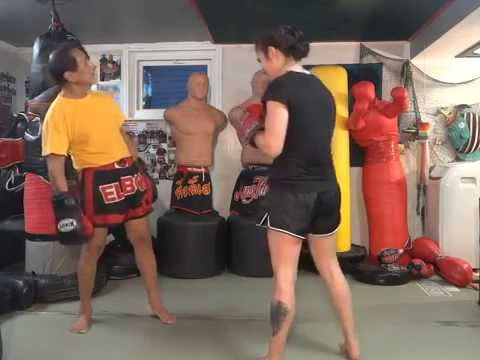 Duck and 5 Punch Combo - Master K Muay Thai Image 1