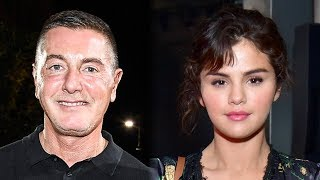 Download Lagu Stefano Gabbana RESPONDS To Selena Gomez & Continues To TROLL Her Online Gratis STAFABAND