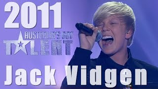Jack Vidgen - 2011 Grand Final Winner - Australia's Got Talent