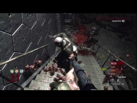 Call of Duty: World at War Nazi Zombies Der Riese 4-Player Strategy (Rounds 20-22)