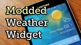 download lagu Theme The Stock Weather Widget On Your Samsung Galaxy gratis