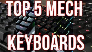 Top 5 Budget Mechanical Keyboards Under $70