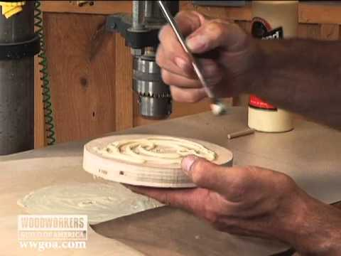 Woodworking Tips: Drill Press - How to Use a  Drill Press as a Clamp