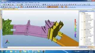 Simulation for modular construction(High rise building)-Shanghai Tower