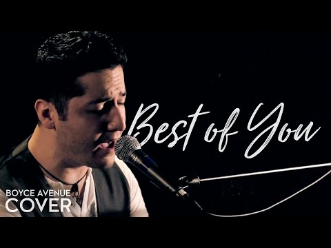 Foo Fighters - Best of You (Boyce Avenue acoustic cover) on iTunes‬ & Spotify Music Videos