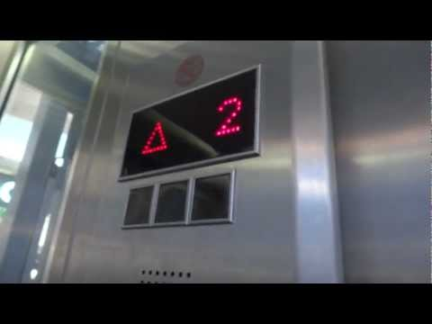 Retake - ThyssenKrupp traction scenic talking elevators at Grand Kenyon in Haifa
