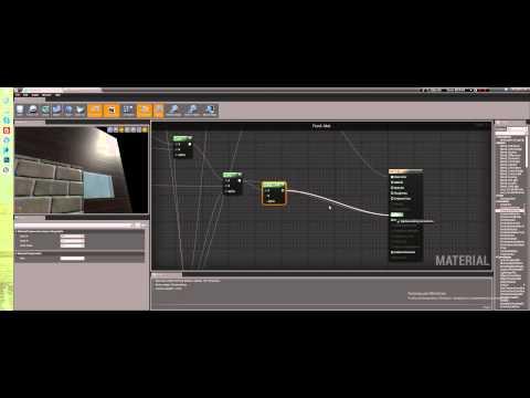 Создание уровня в Unreal Engine 4 - Работа над материалами (Часть 3)