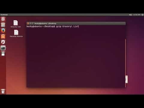 Linux Tutorial for Beginners   10   Compress and Extract tar and gz Files