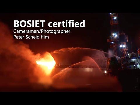 Drilling Rig - Flare Test - Hakuryu-5 - Film Crew Vietnam