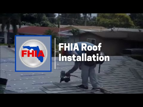 Florida Home Improvement Associates Roof Installation YouTube