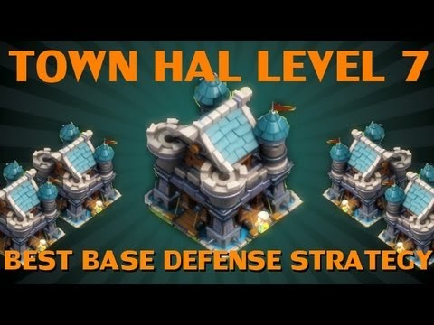 Clash of Lords - Best Base Defense for Town Hall level 7