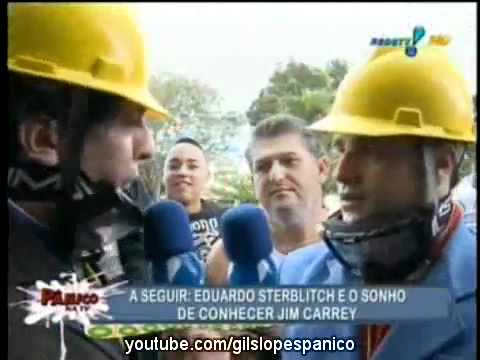 Pânico Na TV 26062011 - Vesgo e Silvio na Guerra de Espadas em Cruz das Almas - BA
