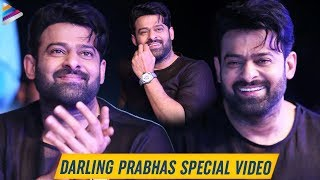 Prabhas Special Moments | Saaho Movie Pre Release Event | Shraddha Kapoor | Sujeeth | S S Rajamouli