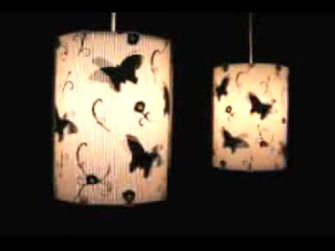 Butterfly Effect lampshades Video