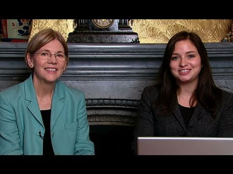 Tuesday Talks: Elizabeth Warren on the Consumer Financial Protection Bureau