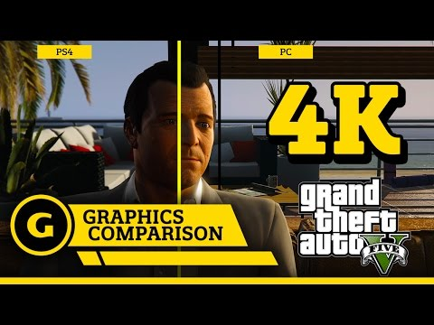 GTA V Graphics Comparison (PC/PS4/X1)