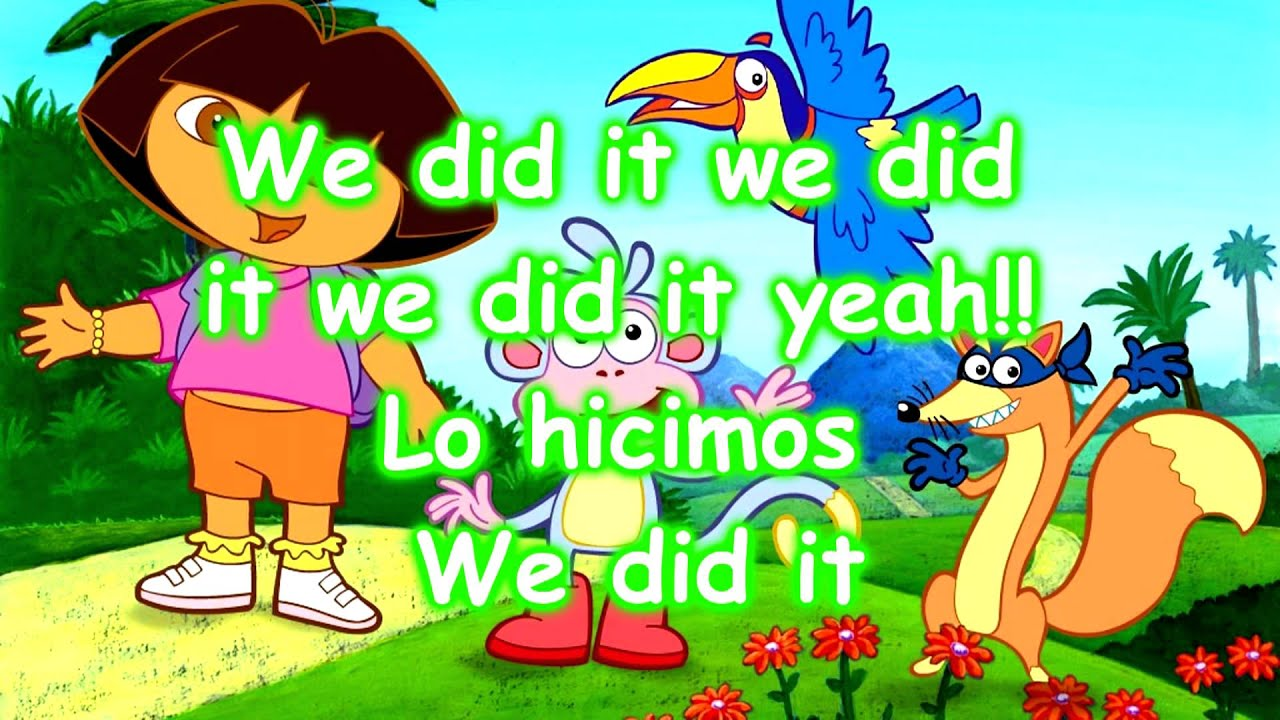 Dora the explorer we did it mp4 youtube