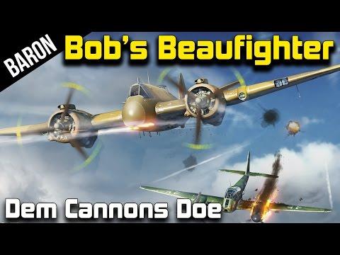 War Thunder - Bob's Beaufighters!  Baron Teaches Muyskerm to Fly!