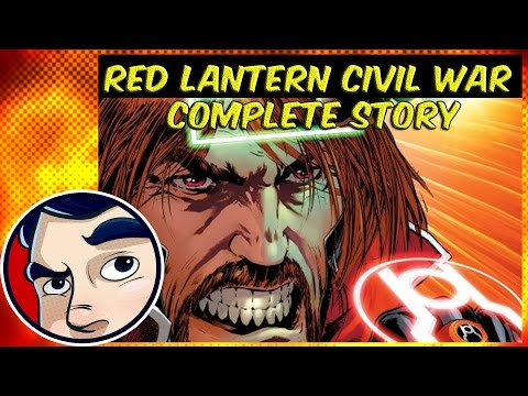 Red Lantern Civil War 'Atrocities' Part 2 - Complete Story