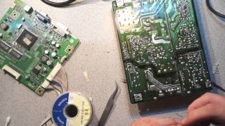 Diagnosis and repair of a Failed LCD Monitor