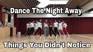 Things You Didn't Notice - TWICE Dance The Night Away (Dance Practice)