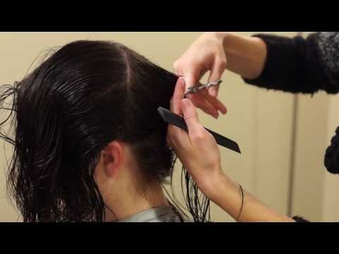 Shattered A-line Hairstyles // HOW TO CUT AN A-LINE // hair tutorial