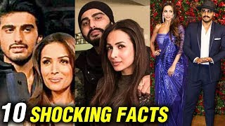 Malaika Arora And Arjun Kapoor 10 SHOCKING UNKNOWN Facts