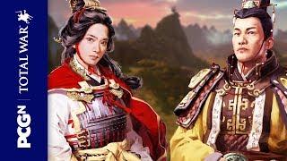 Total War: Three Kingdoms gameplay - ambush battle at night