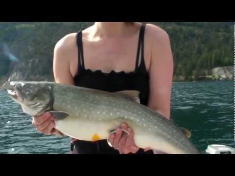 Freshwater Fishing in British Columbia, Canada