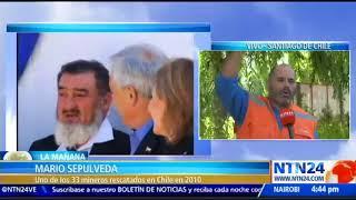 """""""Hay que aferrarse a los milagros"""": uno de los 33 mineros chilenos a tripulantes del submarino"""