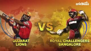 RCB vs GL IPL 2017 Gayle fires makes 75 runs in 38 balls and chahal bowling attacks