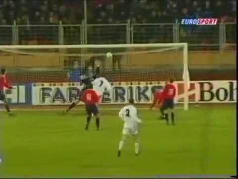 Беларусь - Норвегия. Отборочный матч ЧМ-2002