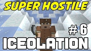 The BATTLE of CENTRAL STATION - Minecraft Super Hostile ICEOLATION MAP - Ep. 6