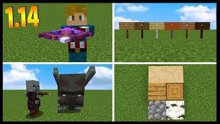 Minecraft 1.14 Snapshot Overview In Under 10 Minutes...