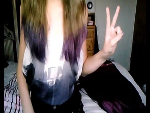 DIY: How to dip dye your hair at home!