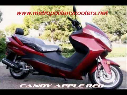 250cc Scooters - 260cc Scooters - Interstate GT 260 Luxury Scooter Moped