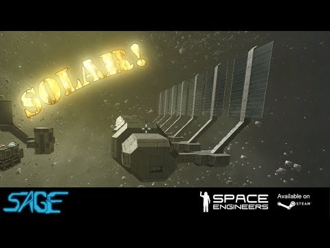 Space Engineers. Solar Panels! (Update 01.022)