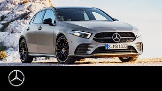 Mercedes-Benz A-Class (2019): How to Activate DISTRONIC
