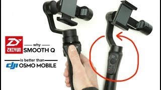 Why ZhiYun Smooth Q is better than DJI OSMO Mobile 2 - iPhone Gimbal Review - Netcruzer TECH