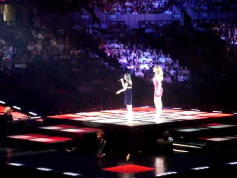 Charice And Celine Dion September 15, 2008 Because You Loved Me Duet