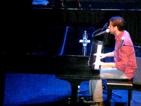 "Andrew McMahon of Jack's Mannequin playing a solo show at The Fillmore in Detroit, MI as a part of 93.9 The River's ""Riverfest"" on August 21, 2009."