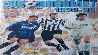 ALBUM - EURO NOGOMET 98/99