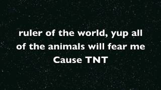 Minecraft tnt song text