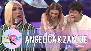 Vice Ganda gets jealous on Zanjoe and Angelica   GGV